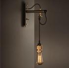 Hooked wall light