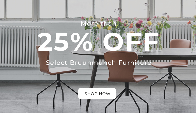 More than 25% off Select Bruunmunch Furniture