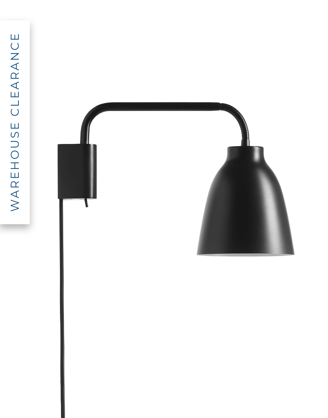 Warehouse Clearance Caravaggio read wall light by Light Years, 40% off