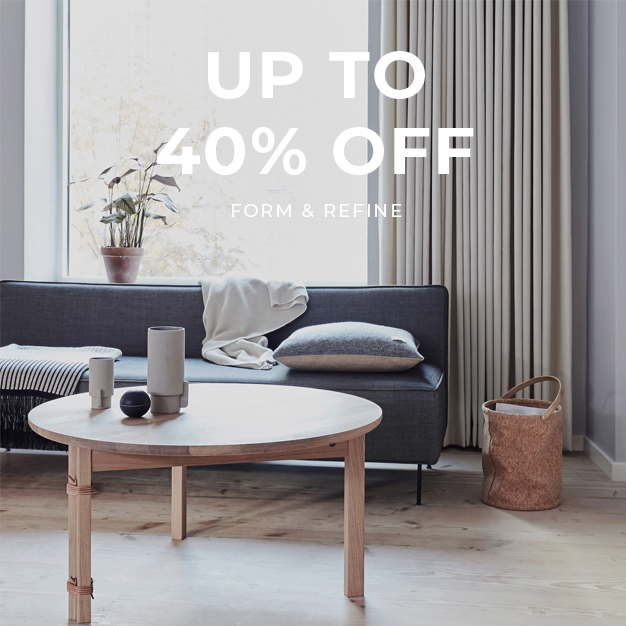 Up to 40% off Form & Refine