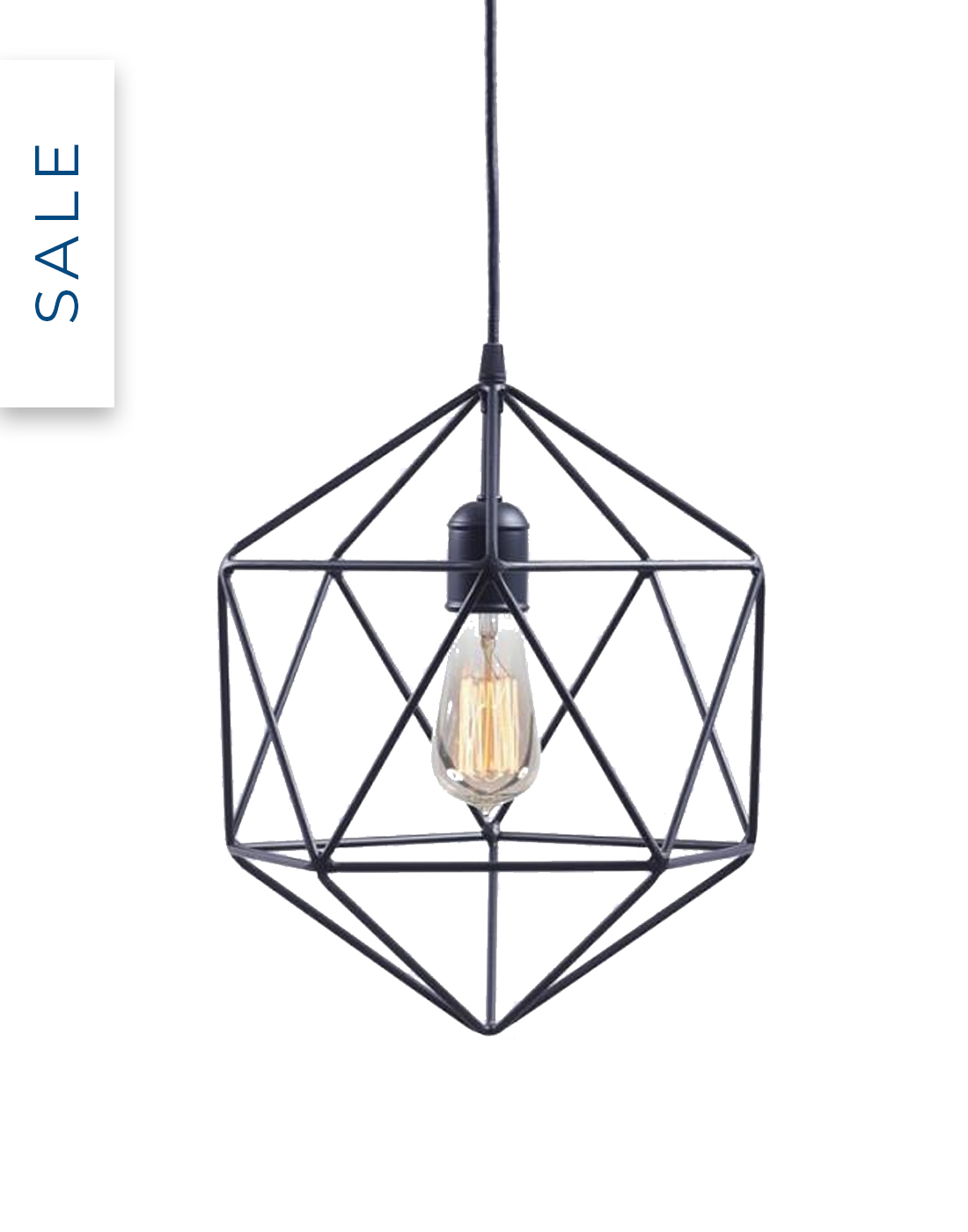 Geometric pendant by Schwung Home with 65% off