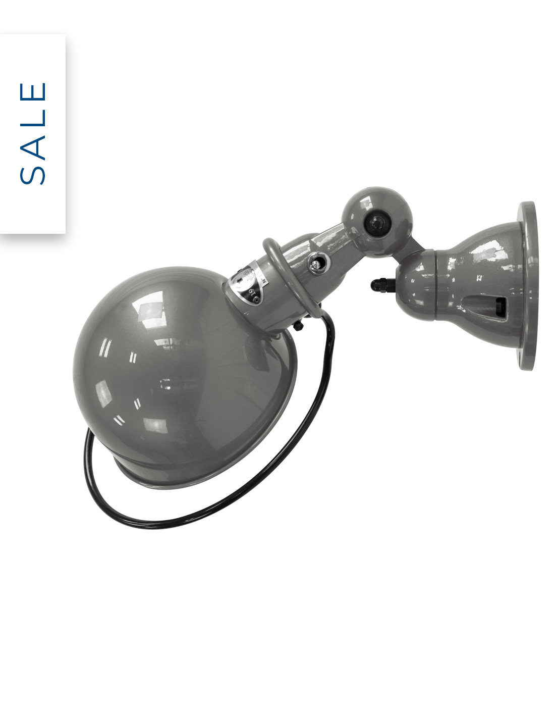 Loft flush wall light by Jielde with 40% off