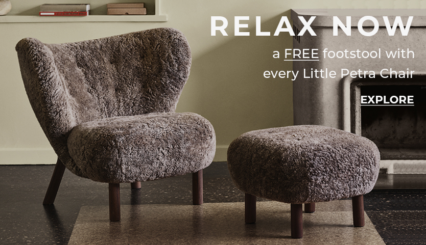 FREE footstool with every Little Petra chair