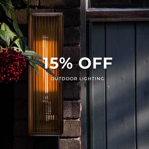 15% off Outdoor Lighting