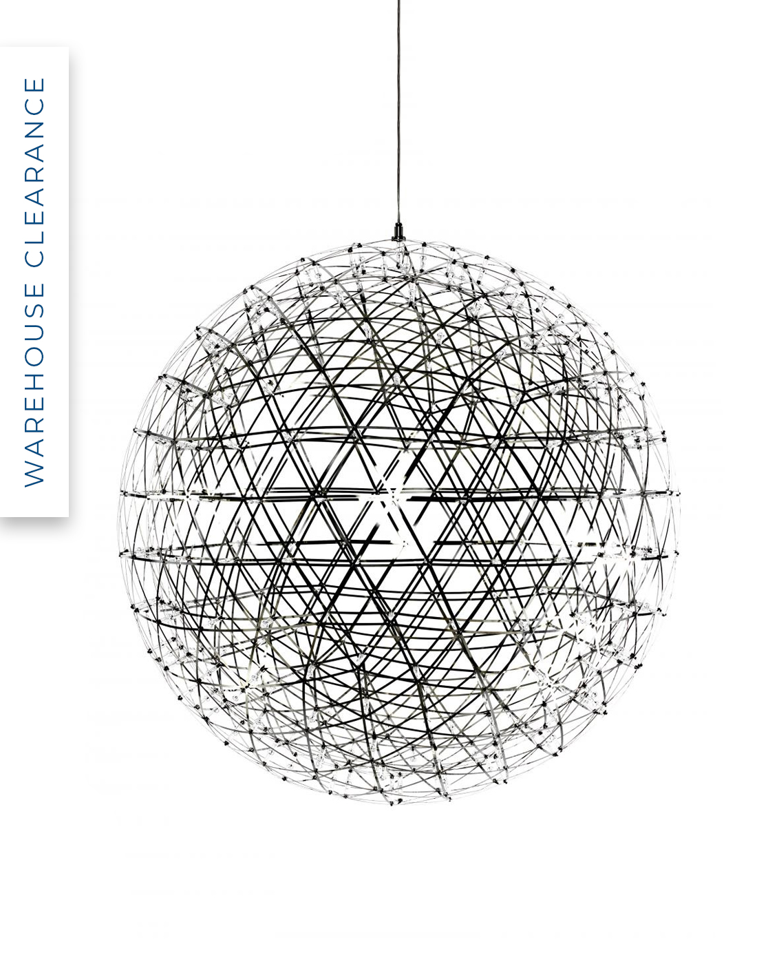 Warehouse Clearance Riamond pendant by Moooi, 50% off