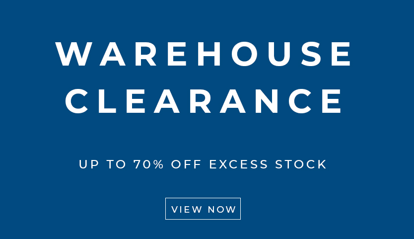 Warehouse Clearance with up to 70% off stock items