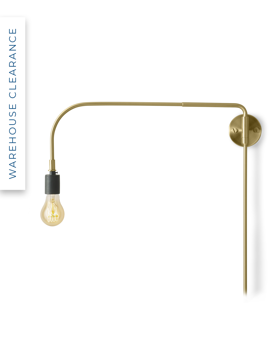 Warren wall light by Menu with 40% off