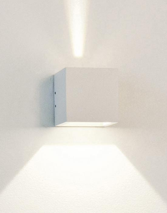 Cube wall light led holloways of ludlow cube wall light led aloadofball Images