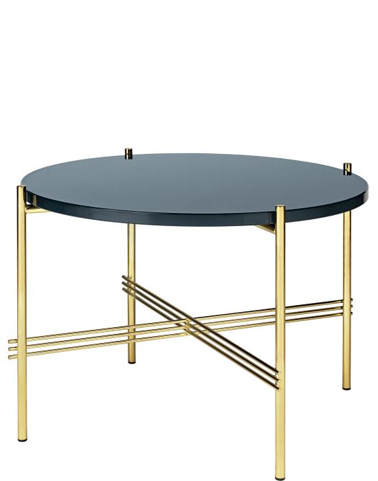 TS Coffee Table - Brass Frame