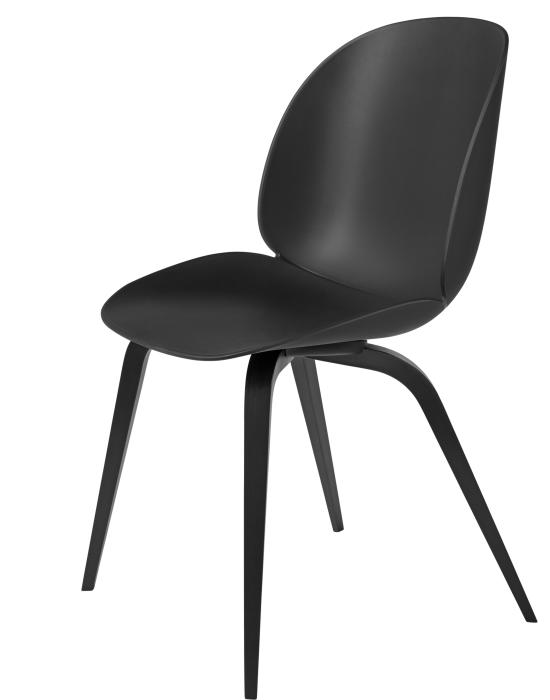 Beetle Dining Chair - Wood Base - Un-upholstered