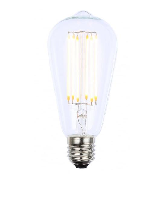 LED dimmable filament  teardrop bulb - E27