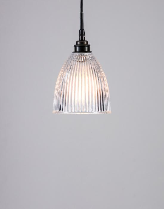 Old School Electric elongated prismatic pendants - IP rated for bathrooms