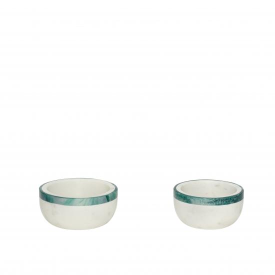 Curved Marble Bowl