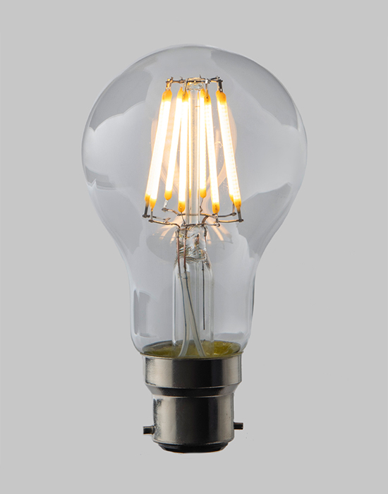 LED filament dimmable GLS - B22