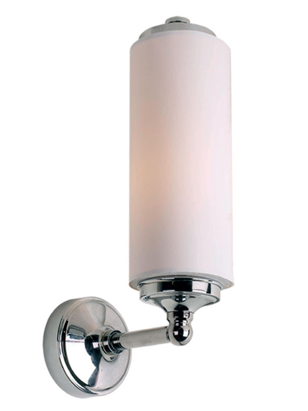Lefroy Brooks tube wall light