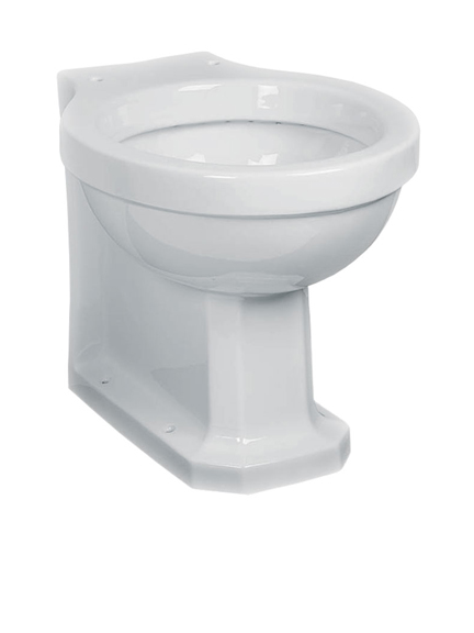 Lefroy Brooks Classic back-to-wall WC pan