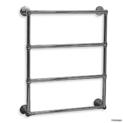 Lefroy Brooks Classic ball jointed wall mounted towel warmer
