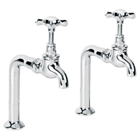 Lefroy Brooks Classic bibcock kitchen taps and pillars