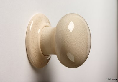 Cream crackle glazed ceramic door knobs, Crackle glaze ceramic door ...