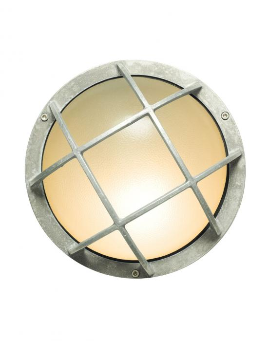 Round aluminium bulkhead with guard