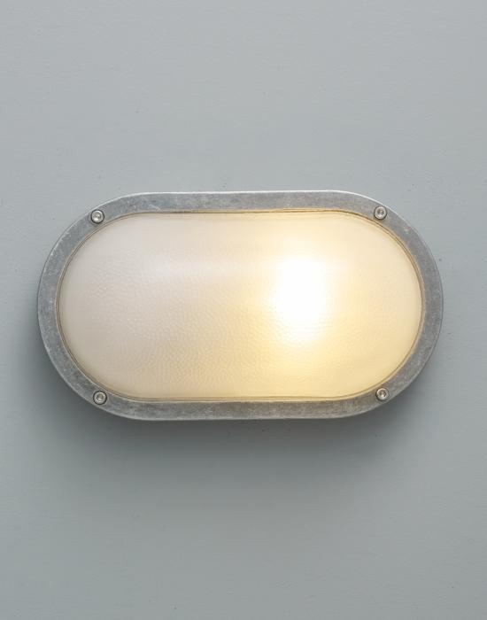 Oval Aluminium Bulkheads Plain Guarded Eyelid