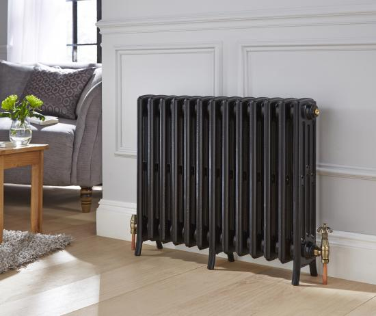 Ironbridge 4 column cast-iron radiator - Primed only