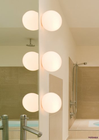 Dioscuri wall and ceiling light