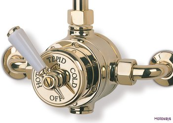 What Is A Thermostatic Shower Valve.Barber Wilsons Exposed Thermostatic Shower Valve