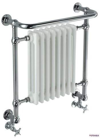 Traditional Wall Mounted Heated Towel Rail With Radiator