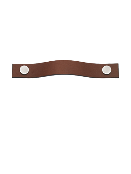 Leather plain strap handle