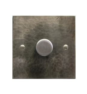 Antique pewter dimmer switches