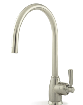 Mimas monoblock sink mixer C spout with lever handles