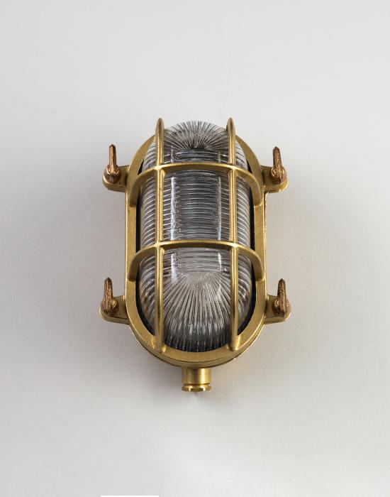 Old School Electric Oval bulkhead light