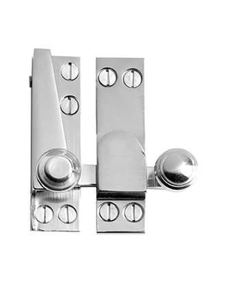Beehive sash window fastener