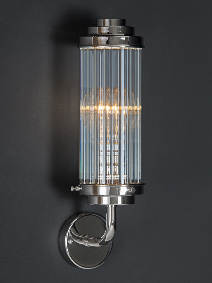 Old School Electric Pimlico Bathroom Wall Light Holloways
