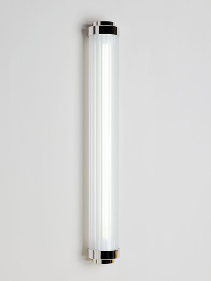 Pimlico bathroom wall light - frosted glass