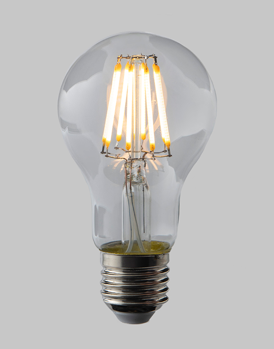 LED filament dimmable GLS - E27