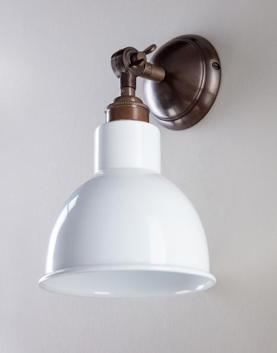 fcc5dee33ef6 Old School Electric Churchill wall light - Coloured shades From: £41.65