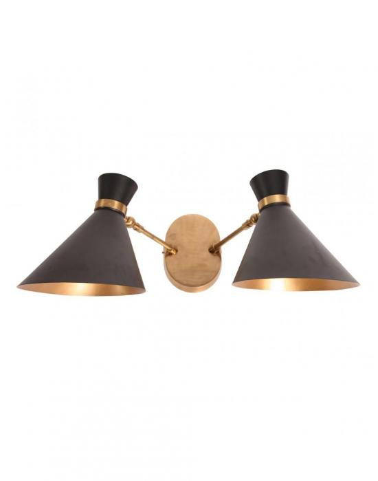 Peggy twin wall light holloways of ludlow peggy twin wall light aloadofball Gallery
