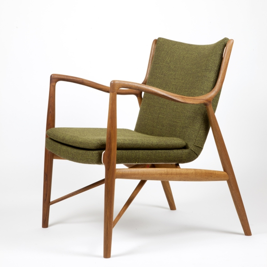 45 Chair From   6590 00One Collection   House of Finn Juhl at Holloways of Ludlow. Finn Juhl Chair 108. Home Design Ideas