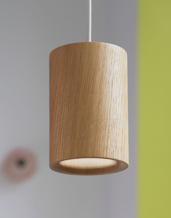 Solid pendants - Wood