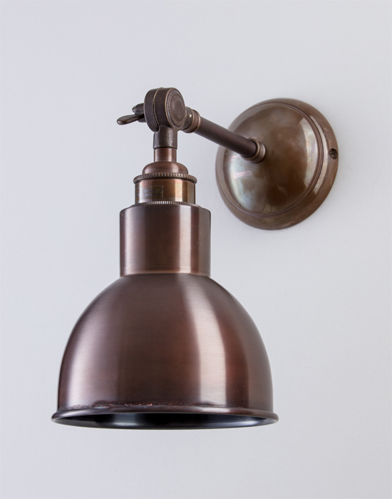 Wall lights holloways of ludlow churchill wall light metal from 16000 mozeypictures Images
