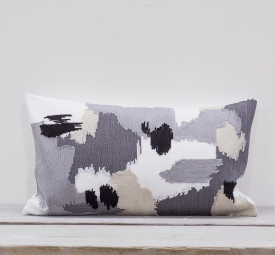 Chusho Embroidered cushion