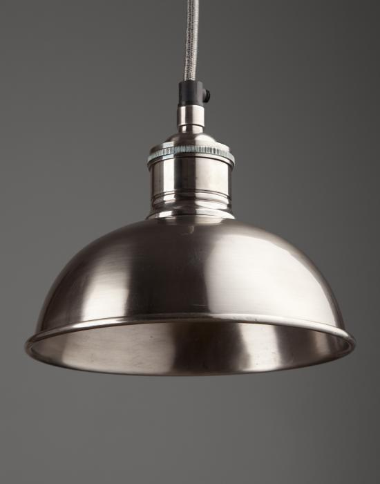 Pewter Dome Pendant - 50% OFF