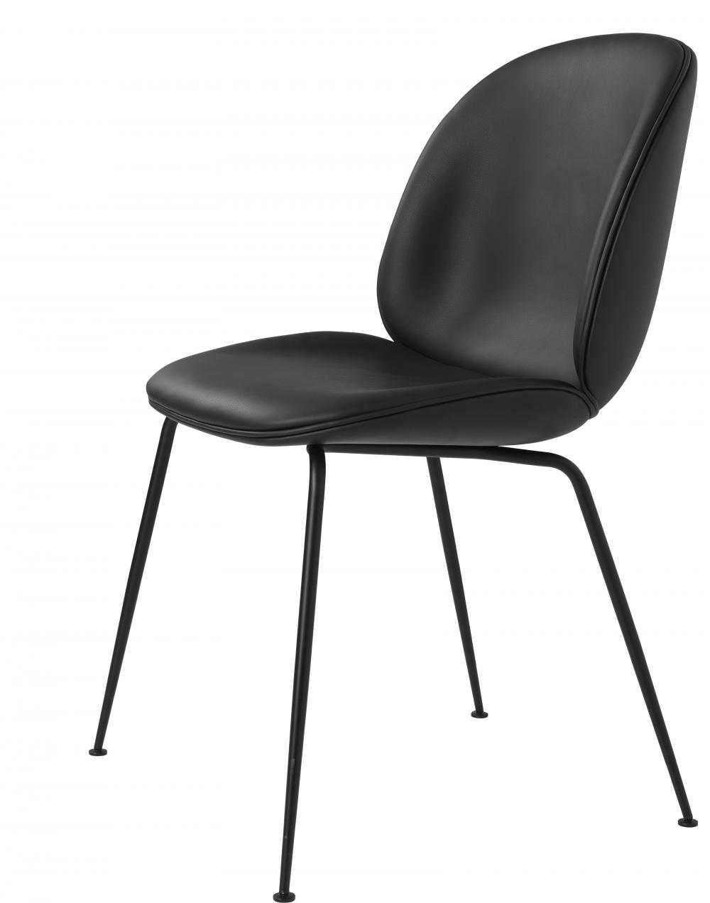 Beetle Dining Chair - Conic Base - Fully Upholstered
