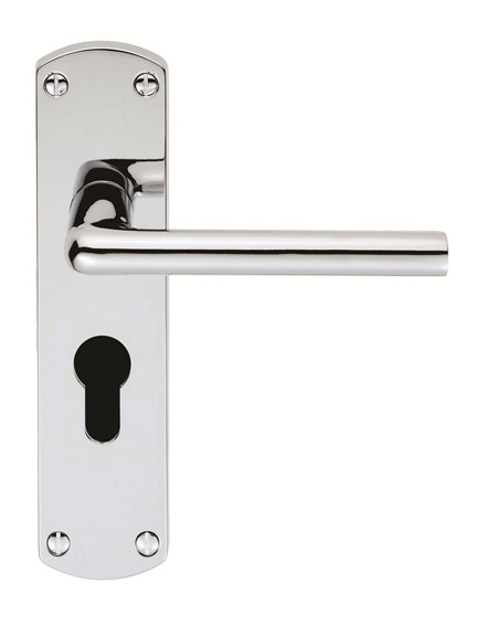 Clyde door handle set on backplate - 50% OFF