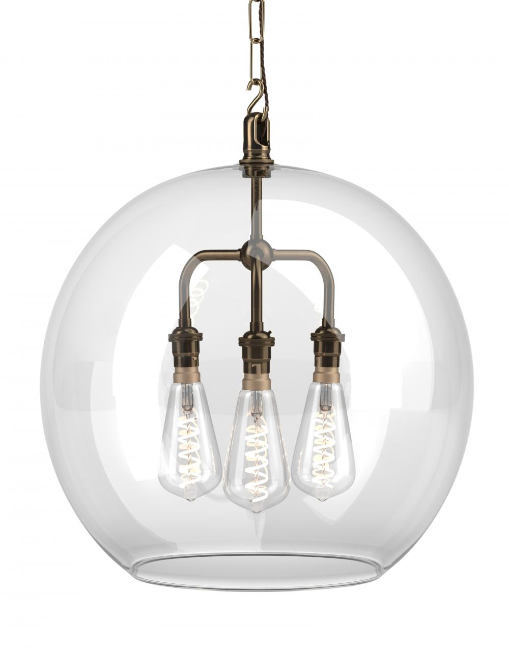 Hereford 3 way pendant