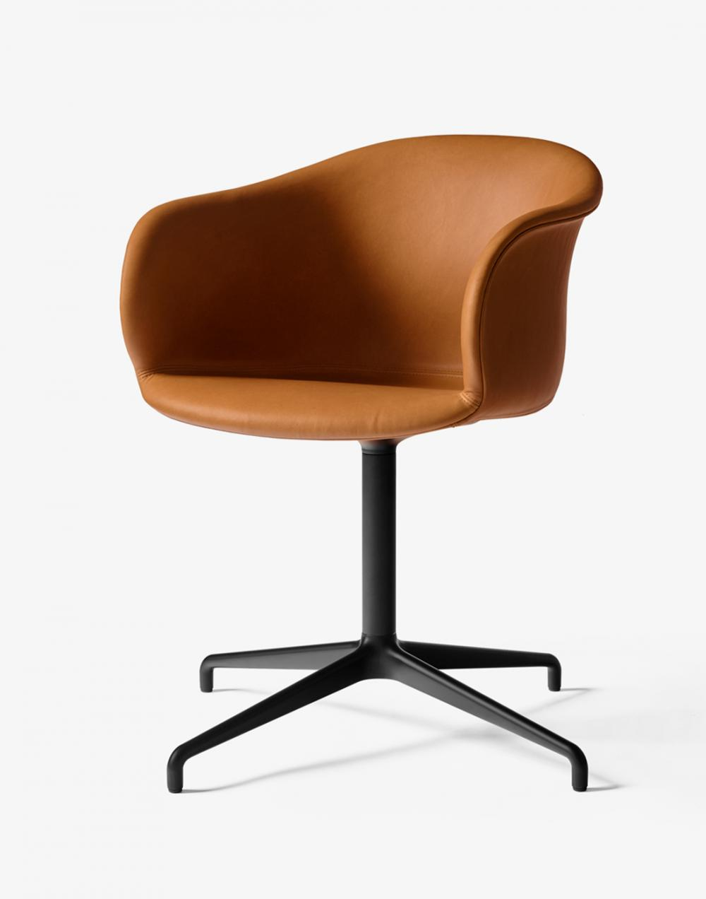 Elefy chair with upholstery - swivel base