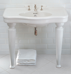 Lefroy Brooks La Chapelle console basin