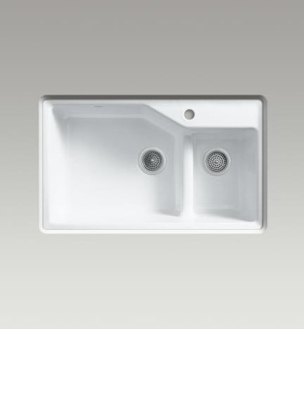 Indio double offset sink